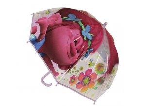 Průhledný deštník Trollové Poppy