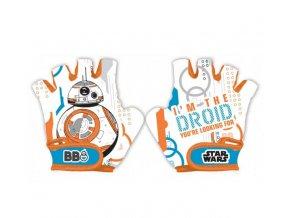 Cyklistické rukavice Star Wars BB-8