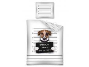 povlečení jack russel spatny pes DL 038953