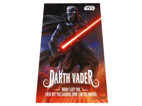 Fleece deka Star Wars Darth Vader 100/150