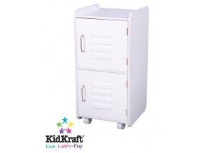 KidKraft Dětský kontejner bílý