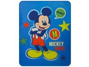 Fleece deka Mickey Expressions 110/140