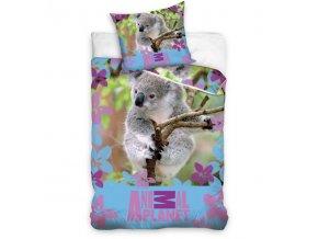 Povlečení Animal Planet Koala 140/200, 70/90