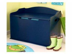 KidKraft Box na hračky Austin, tmavě modrý