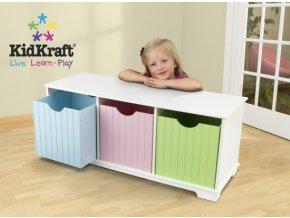 KidKraft Box na hračky Pastel