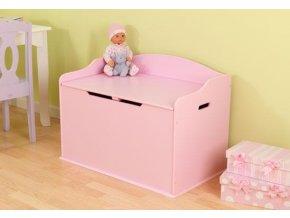 KidKraft Box na hračky Austin, růžový