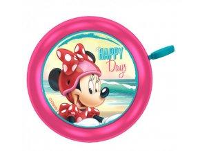 Zvonek na kolo Minnie Mouse kovový