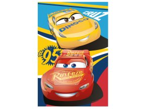 Fleece deka Cars 3 100/150