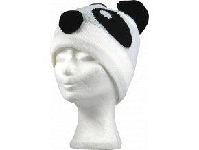 čepice Pandas bílá