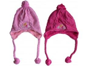 Pletená čepice s copánky Barbie 952-782