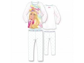 Pyžamo Barbie s dlouhým rukávem 953-074