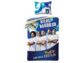 Povlečení Real Madrid Team 140/200, 70/90 - skladem