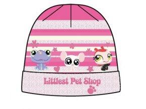 Dětská zimní čepice Littlest Pet Shop 4101 růžová
