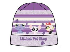 Dětská zimní čepice Littlest Pet Shop 4101 fialková