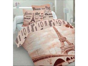 Povlečení Paříž Life Style 220/200, 2x70/80