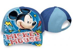 Kšiltovka Mickey modrá vel. 52 - skladem