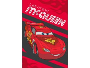 Dětský ručník Cars Blesk McQueen 60/40