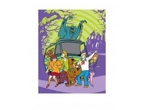 Fleece deka Scooby Doo 120/150