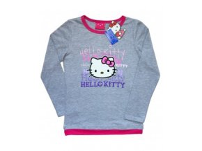 Triko Hello Kitty šedé 1116