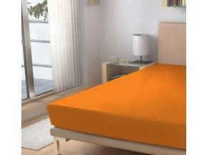 Prostěradlo Micro EXKLUSIVE Pomerančová 90/200