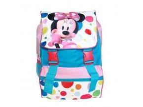 Školní batoh Minnie puntíky 41 cm