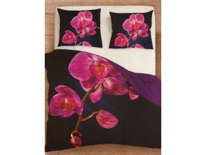 Povlečení Orchidej růžová 140/200, 2x70/80