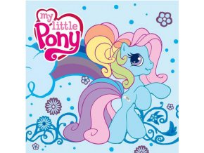 Magický ručníček My Little Pony modrý 30/30