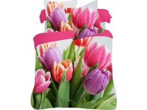 povlečení tulipány