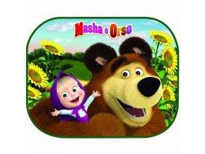 Sluneční clona Máša a Medvěd 2 ks