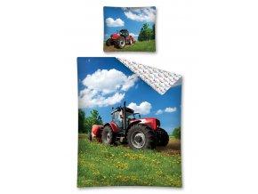 Povlečení Traktor na louce 140/200, 70/80 - skladem