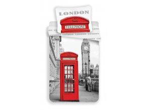 Povlečení Londýn Telephone 140/200, 70/90 - skladem