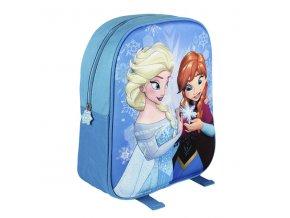 Batůžek 3D Ledové Království Anna a Elsa 33 cm