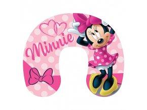 Cestovní polštářek Minnie pink