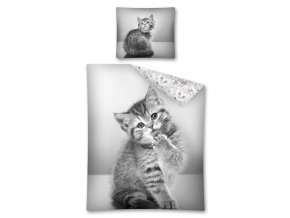Povlečení Sweet Animals kotě 140/200, 70/80 - skladem