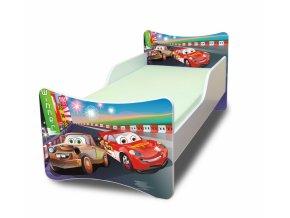 Dětská postel se zábranou Auta 2