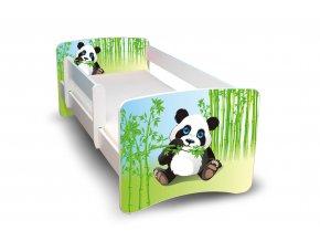 Dětská postel s bariérkou Filip - Panda