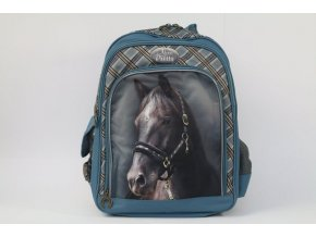 Školní batoh Nice and Pretty Kůň modrý