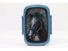 Box na svačinu Nice and Pretty Kůň modrý