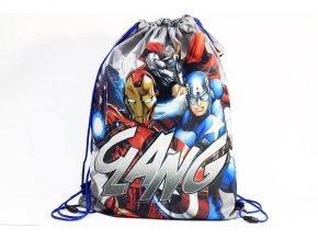 Taška na tělocvik a přezůvky Avengers