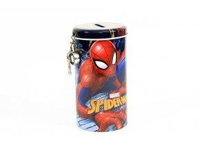 Pokladnička na zámek Spiderman