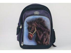 Školní batoh Nice and Pretty hnědý Kůň