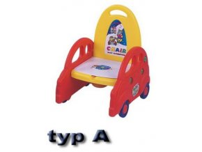 Dětské WC-dětské sedátko/záchod autíčko MODRÉ