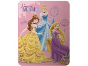 Fleece deka Disney Princezny 110/140