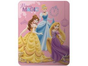 Fleece deka Disney Princezny 110/140