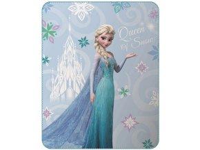 Fleece deka Ledové Království Elsa 110/140