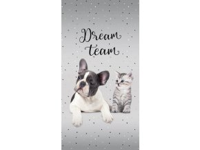 Osuška Sweet Animals Dream Team 70/140 - skladem