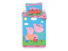 Povlečení Peppa Pig 023 140/200, 70/90 - skladem