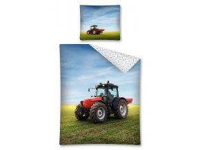 Povlečení Traktor na poli 140/200, 70/80 - skladem
