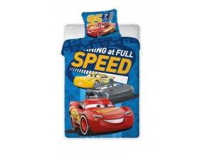 Povlečení Cars 3 Speed 140/200, 70/90 - skladem