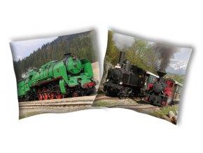 Povlak na polštářek Parní lokomotiva 1 40/40 - skladem